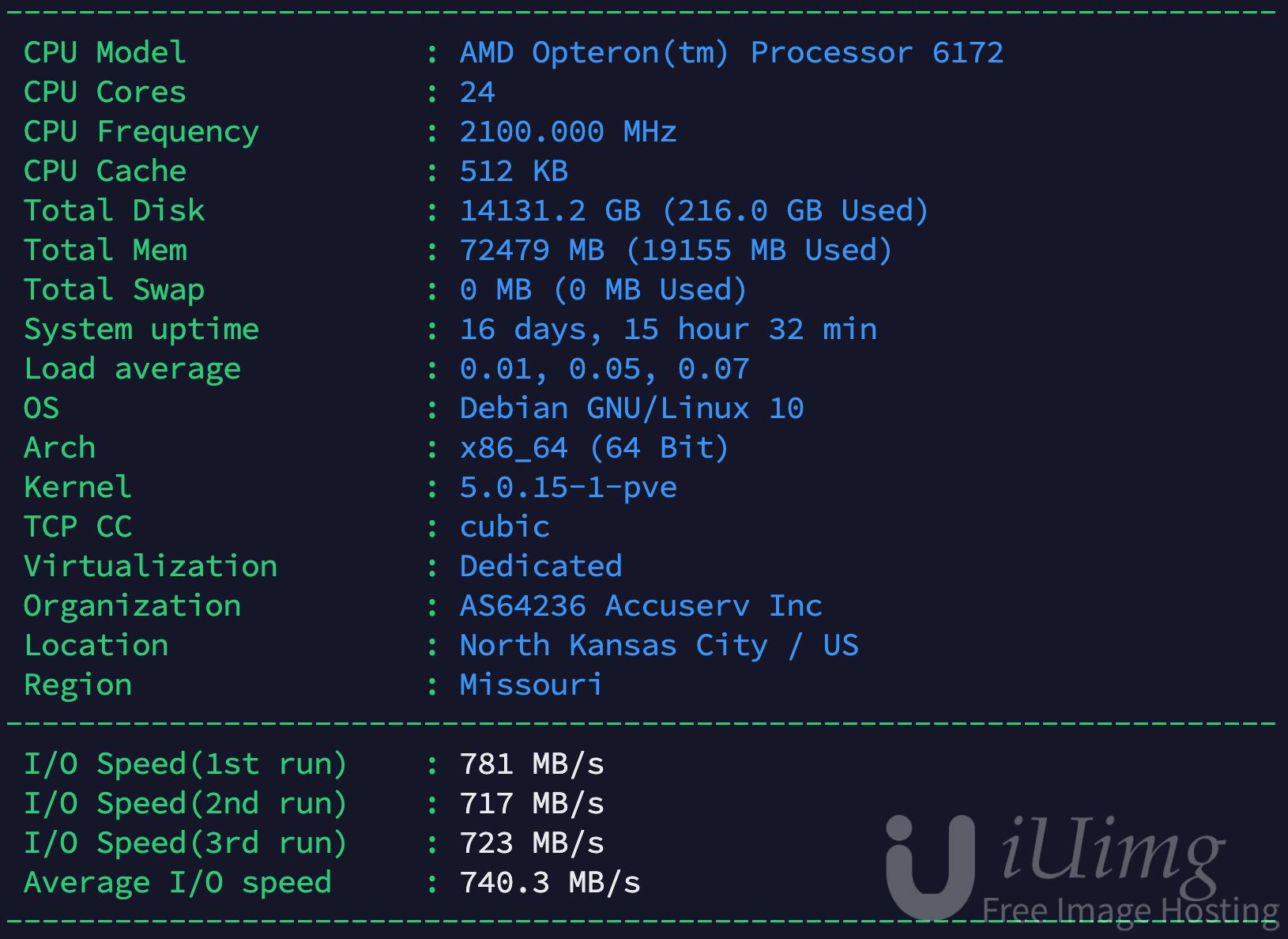 出几台Unreal 24刀定制机 24核72G内存3*2T-VPS排行榜