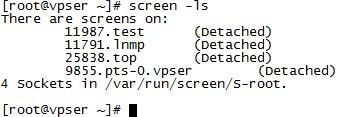 SSH远程会话管理工具 - screen使用教程-VPS排行榜
