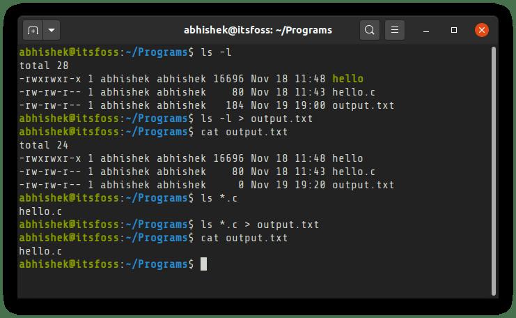如何将Linux命令输出保存到文件的两种方法-VPS排行榜