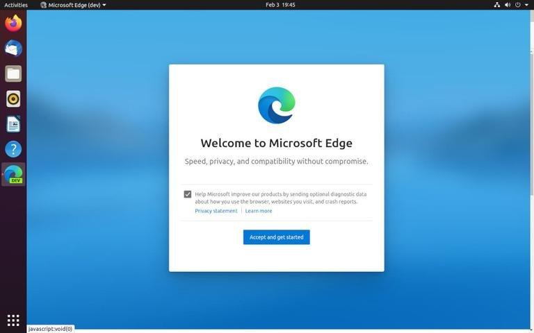 如何在Ubuntu 20.04上安装Microsoft Edge浏览器
