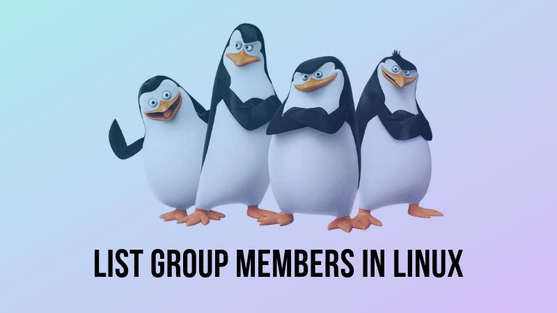 三个在Linux中列出组用户的方法-VPS排行榜