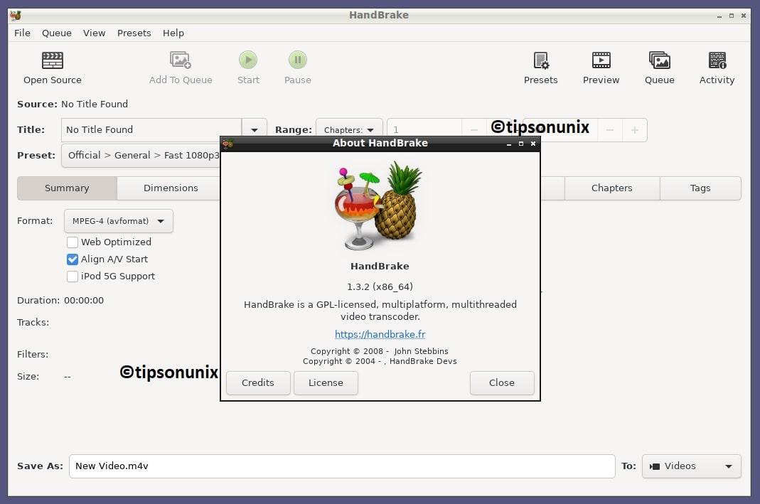 如何在Ubuntu 20.04或者LinuxMint上安装HandBrake 1.3.2-VPS排行榜