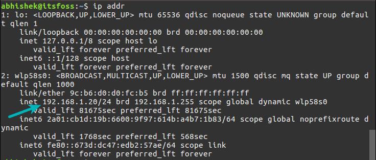 如何在Linux命令行中查找IP地址-VPS排行榜